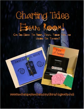 Escape Room Science Pack: Charting Tides and Moon Phases