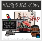 Escape Room Series (Ship) A Third Grade Common Core Math Review