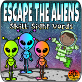 Escape Room Sight Word Centers Literacy Activities Movement Outer Space Centers