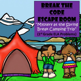 Camp-1st Grade Digital Escape Room-Distance Learning-Google Forms-Reading-Spring