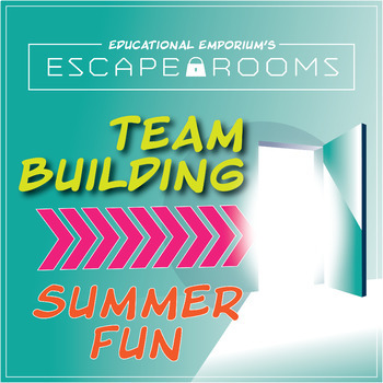 Back to School Escape Room~Beginning of Year Activity~Summer Fun~Team Building