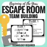 Escape Room - Team Building - Any Content - Back to School