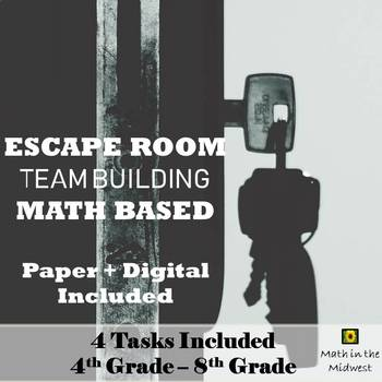 ⭐Team Building Activity, Team Building Escape Room, Back to School Math Activity
