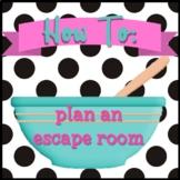 Escape Room Template