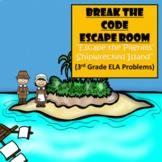Thanksgiving-3rd Grade Digital Escape Room-Distance Learning-Google Forms-ELA