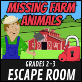Escape Room: The Missing Farm Animals Math Mystery