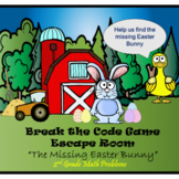 Escape Room (This Missing Hare)-2nd Grade Math Computation & Word Problems