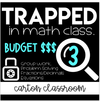 Escape Room Trapped in Math Class - Budget **PRE-MADE DIGITAL LOCK INCLUDED**