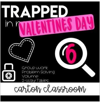 Escape Room Trapped in Math Class - Valentine's Day