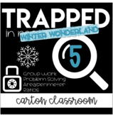 Escape Room Trapped in Math Class - Winter Wonderland