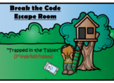 Escape Room (Trapped in the Tablet)-3rd Grade Math Computation & Word Problems