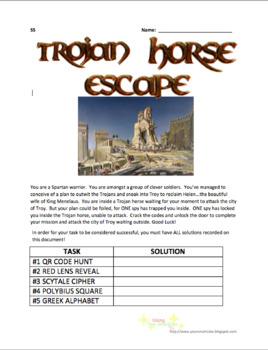 Escape Room - Trojan Horse