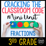Escape Room Unit 3rd Grade Fractions Cracking the Classroom Code®