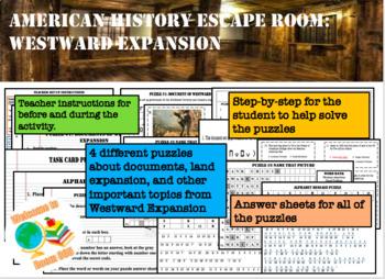 Escape Room: WESTWARD EXPANSION