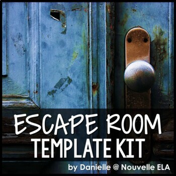 Escape Room and Breakout Box Template Kit (Personal and Commercial Use)