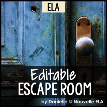 ELA Escape Room (editable)