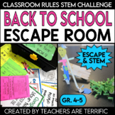 Escape Room for Back to School