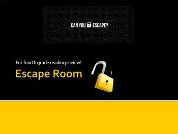 Escape Room for  ELA review