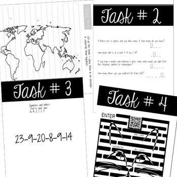 Escape Room v2 | Any Content Area | Social Skills - Critical Thinking Skills