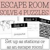Escape Room v2 | Any Content Area | Social Skills - Critic