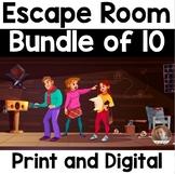 Escape Rooms BUNDLE: Grades 2-5