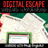 Escape Santa's Workshop: Double Digit Multiplication & Multi-Step Word Problems