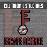 Escape Science - Cell Theory & Structures - Escape the Room Style Activity