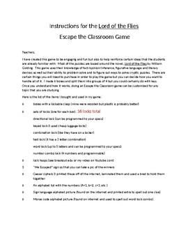 Escape The Classroom using Classroom Novel
