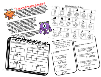 Escape The Ordinary Lock Box: Feed the Monsters 4th Grade STAAR Editing Review