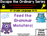 Escape The Ordinary Lock Box: Feed the Monsters 4th Grade