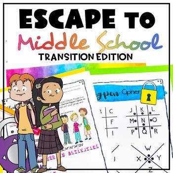 Escape To Middle School Escape Room (Middle School Transition Lesson)
