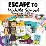 Escape To Middle School Escape Room (Middle School Transition Lesson)