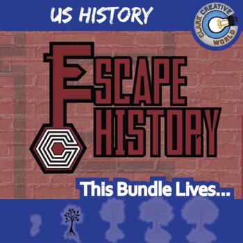 Escape U.S. History -- 6+ Escape the Room Social Studies Games