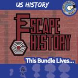 Escape U.S. History -- 8+ Escape the Room Social Studies Games