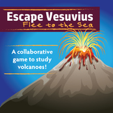 Escape Vesuvius - Flee to the Sea | A Collaborative Game to Study Volcanoes