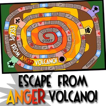 Escape from Anger Volcano Counseling Game