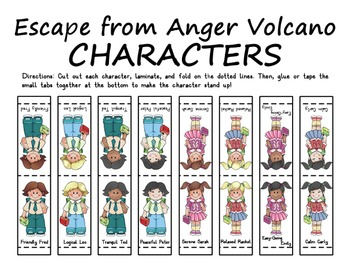 Escape from Anger Volcano Counseling Game by One-Stop Counseling Shop