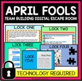 Escape from April Fool's- Team Building Digital Escape Roo