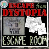 Escape from Dystopia ESCAPE ROOM & PowerPoint