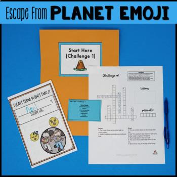 5th Grade Reading Review Game   ELA Test Prep Game Escape Room