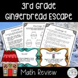 Escape from Gingerbread Village-A 3rd Grade Math Escape Room