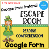 Escape from Ireland-Google Form Escape Room!-Distance Lear