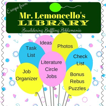Escape from Lemoncello's Library Literature Circles