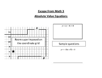 Escape From Math 3 - Absolute Value Equations