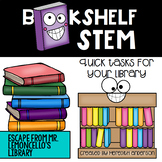 Escape from Mr. Lemoncello's Library - Bookshelf STEM Activities