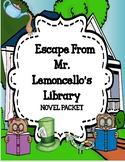 Escape from Mr. Lemoncello's Library  Comprehension & Vocabulary