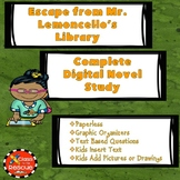 Escape from Mr. Lemoncello's Library Digital Novel Study