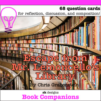 Escape from Mr. Lemoncello's Library Discussion Question Cards