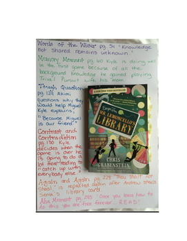 Escape from Mr. Lemoncello's Library: Novel Study Guide wi