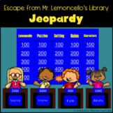 Escape from Mr. Lemoncello's Library by Chris Grabenstein Jeopardy